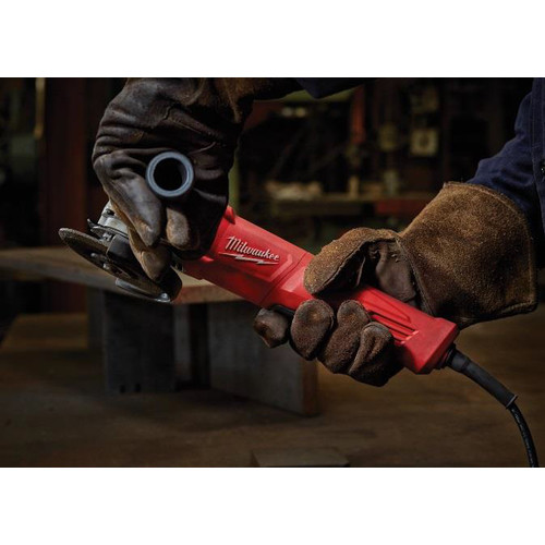 Factory Reconditioned Milwaukee 6142-831 4-1/2 in. Small Angle Grinder No-Lock image number 2