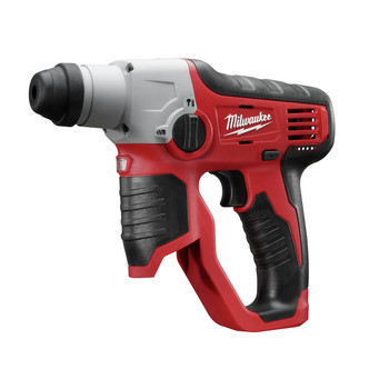 Milwaukee 2412-20 M12 Lithium-Ion 1/2 in. SDS-Plus Rotary Hammer Kit (Tool Only) image number 1