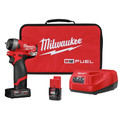 Milwaukee 2552-22 M12 FUEL Stubby 1/4 in. Impact Wrench Kit