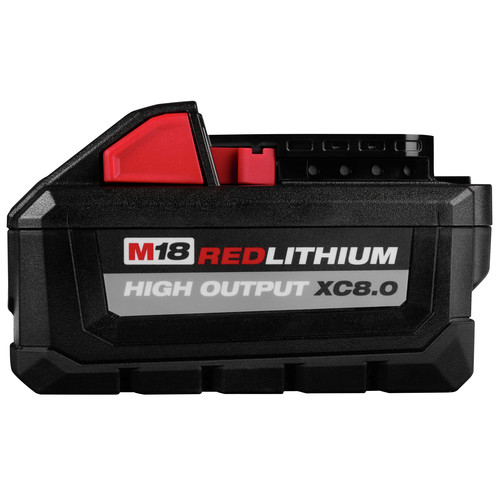 Milwaukee 48-11-1880 M18 REDLITHIUM HIGH OUTPUT XC 8 Ah Lithium-Ion Battery image number 1
