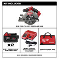 Factory Reconditioned Milwaukee 2730-82 M18 FUEL Cordless 6-1/2 in. Circular Saw with 2 REDLITHIUM Batteries image number 1