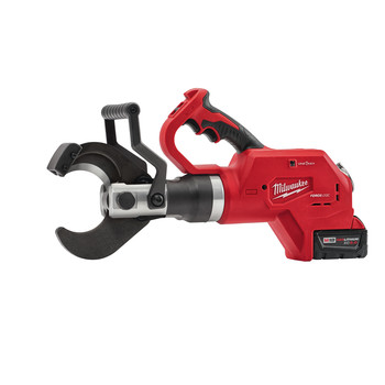 Milwaukee 2776-21 M18 18V 5.0 Ah Cordless Lithium-Ion FORCE LOGIC 3 in. Underground Cable Cutter Kit with ONE KEY image number 1