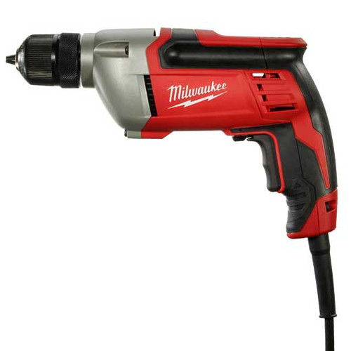Milwaukee 0240-20 8 Amp 0 - 2800 RPM 3/8 in. Corded Drill with Soft Grip Handle image number 0