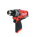 Milwaukee 2598-22 M12 FUEL Brushless Lithium-Ion 1/2 in. Cordless Hammer Drill/ 1/4 in. Impact Driver Combo Kit (2 Ah) image number 2