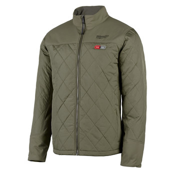 Milwaukee 203OG-20L M12 Heated AXIS Jacket (Jacket Only) - Olive Green, Large