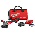 Milwaukee 2980-22 M18 FUEL 4-1/2 in. - 6 in. Braking Grinder Kit with No-Lock Paddle Switch & (2) 6 Ah Li-Ion Batteries