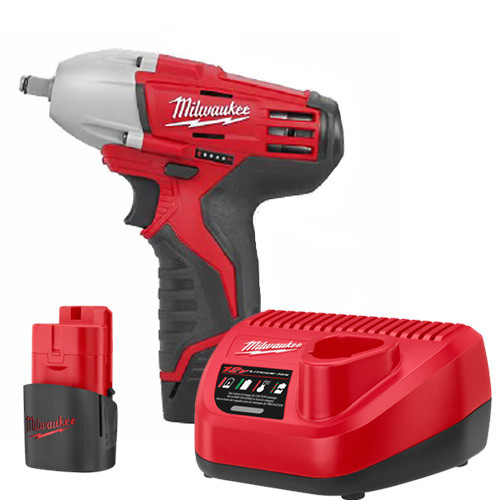 Factory Reconditioned Milwaukee 2451-82 M12 12V Cordless Lithium-Ion 3/8 in. Impact Wrench