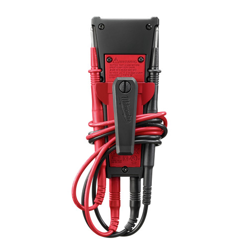 Milwaukee 2213-20 600V Auto Voltage/Continuity Tester with Resistance image number 2
