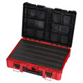 Milwaukee 48-22-8426-8425-8450 PACKOUT 3pc Kit Rolling Tool Box, Large Tool Box, and Tool Case with Foam Insert image number 8