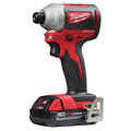 Milwaukee 2850-22CT M18 Compact Brushless 1/4 in. Hex Impact Driver Kit image number 2