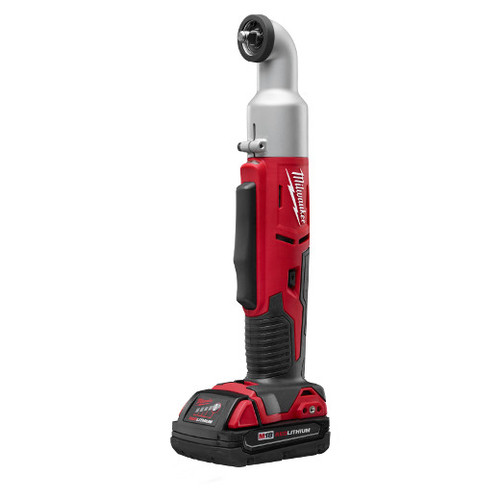 Milwaukee 2668-21CT M18 18V Cordless Lithium-Ion 2-Speed 3/8 in. Right Angle Impact Wrench Kit