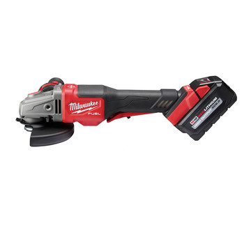 Milwaukee 2980-21 M18 FUEL 4-1/2 in. - 6 in. Braking Grinder Kit with No-Lock Paddle Switch & (1) 6 Ah Li-Ion Battery image number 2