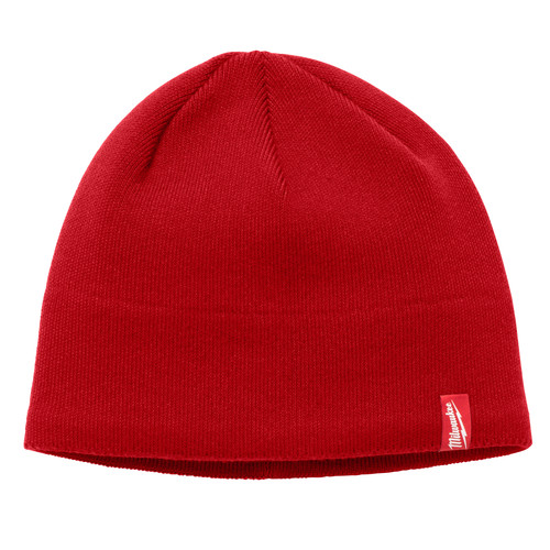 Milwaukee 502R Fleece Lined Knit Hat (Red)