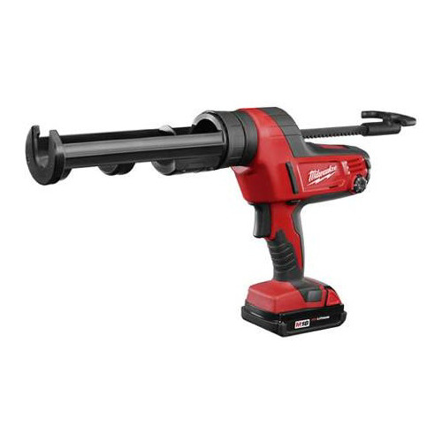 Factory Reconditioned Milwaukee 2641-80 M18 18V Cordless Lithium-Ion Caulk/Adhesive Gun with 10 oz. Carriage (Bare Tool)
