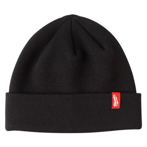 Milwaukee 503B Black Cuffed Beanie image number 0