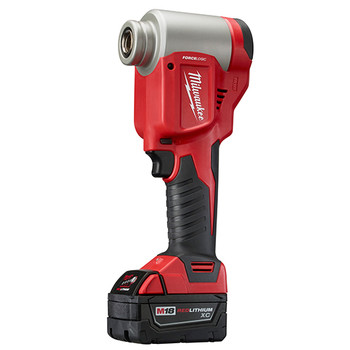 Milwaukee 2676-22 M18 FORCE LOGIC Cordless Lithium-Ion High Capacity Knockout Kit with EXACT 1/2 - 2 in. Knockout Set image number 3