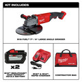 Milwaukee 2785-22HD M18 FUEL 7 in. / 9 in. Large Angle Grinder Kit image number 1