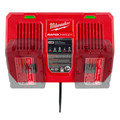 Milwaukee 48-59-1802 M18 Dual Bay Simultaneous Rapid Lithium-Ion Charger image number 11