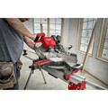 Milwaukee 2739-20 M18 FUEL Cordless Lithium-Ion 12 in. Dual Bevel Sliding Compound Miter Saw (Tool Only) image number 3
