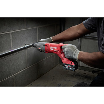Factory Reconditioned Milwaukee 2713-80 M18 18V Cordless Lithium-Ion 1 in. SDS Plus D-Handle Rotary Hammer (Tool Only) image number 2