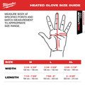 Milwaukee 561-21M REDLITHIUM USB Heated Gloves Kit - Medium image number 3