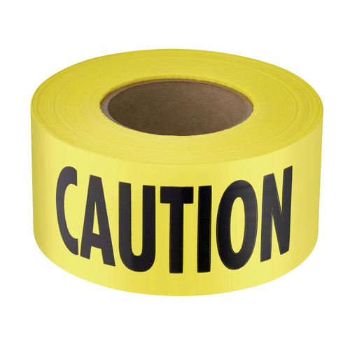 "Empire 71-1001 1,000 ft. x 3 in. ""Caution"" Barricade Tape (Yellow)"