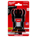 Milwaukee 49-10-9001 OPEN-LOK 3-Piece All Purpose Oscillating Multi-Tool Blade Variety Pack image number 1