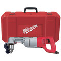 Factory Reconditioned Milwaukee 3107-8 7 Amp 1/2 in. Corded Right Angle Drill with D-Handle and Case image number 0