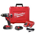 Milwaukee 2801-22CT M18 Compact Brushless 1/2 in. Drill Driver Kit
