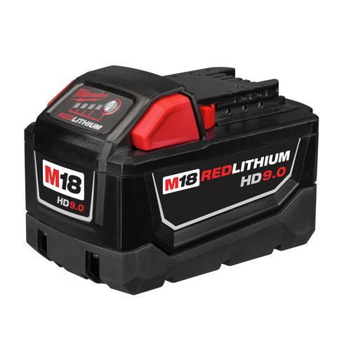 Milwaukee 48-11-1890 M18 REDLITHIUM HIGH DEMAND 18V 9.0 Ah Lithium-Ion Battery Pack