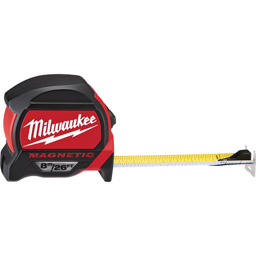 Milwaukee 48-22-7225 26 ft. (8m) Magnetic Tape Measure