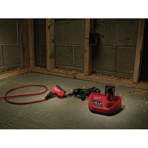 Milwaukee 2678-22BG M18 Force Logic 18V 2.0 Ah Cordless Lithium-Ion 6T Utility Crimper Kit with D3 Groves and Fixed BG Die image number 9