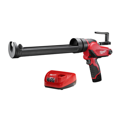 Milwaukee 2444-21 M12 12V Cordless Lithium-Ion Quart Caulk and Adhesive Gun Kit