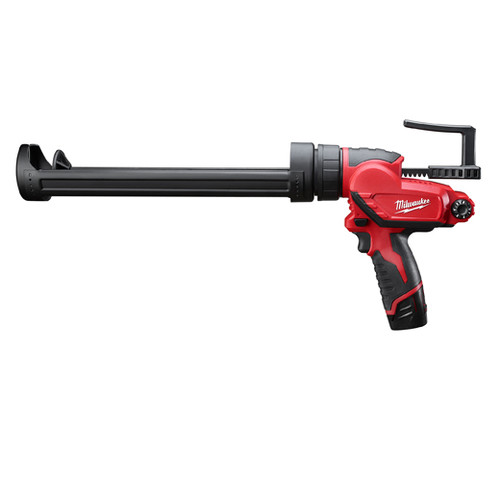 Factory Reconditioned Milwaukee 2444-81 M12 12V Cordless Lithium-Ion Quart Caulk and Adhesive Gun Kit