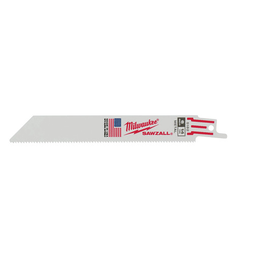 Milwaukee 48-00-5182 Super Sawzall Blade 6 in. 14 TPI