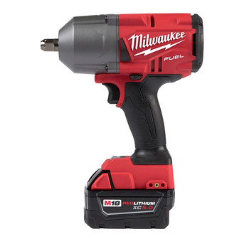 Milwaukee 2766-22 M18 FUEL High Torque 1/2 in. Impact Wrench with Pin Detent (Kit) image number 3