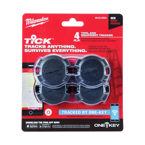 Milwaukee 48-21-2004 TICK Tool & Equipment Tracker (4-Pack)