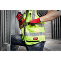 Milwaukee 48-73-5041 High Visibility Performance Safety Vest - Small/Medium, Yellow image number 5