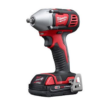 Milwaukee 2658-22CT M18 Lithium-Ion 3/8 in. Impact Wrench Kit with Friction Ring image number 2