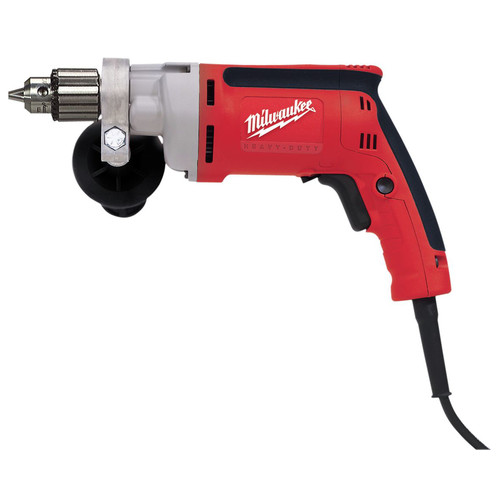 Milwaukee 0200-20 7 Amp 0 - 1200 RPM 3/8 in. Corded Magnum Drill with Keyed Chuck