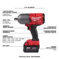 Milwaukee 2767-22 M18 FUEL High Torque 1/2 in. Impact Wrench with Friction Ring (Kit) image number 7