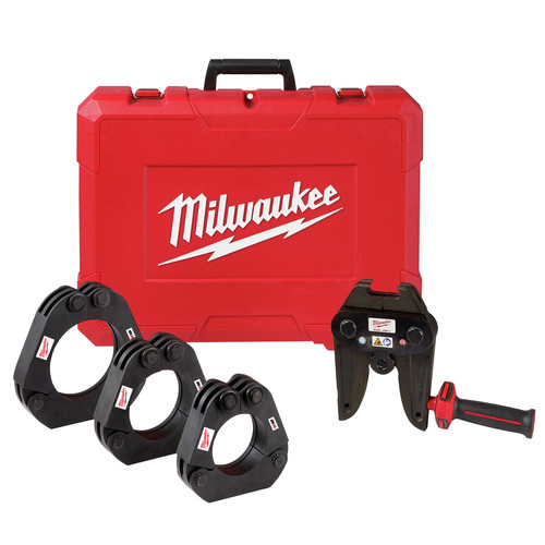 Milwaukee 49-16-2698 2-1/2 in. - 4 in. IPS XL Ring Kit for M18 FORCE LOGIC Long Throw Press Tool image number 0