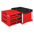 Milwaukee 48-22-8443 PACKOUT 50 lbs. Capacity 3-Drawer Tool Box image number 15