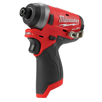 Factory Reconditioned Milwaukee 2553-80 M12 FUEL 1/4 in. Hex Impact Driver (Tool Only) image number 1