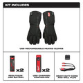 Milwaukee 561-21M REDLITHIUM USB Heated Gloves Kit - Medium image number 1