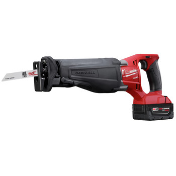 Milwaukee 2720-22 M18 FUEL Cordless Sawzall Reciprocating Saw with 2 REDLITHIUM Batteries image number 2