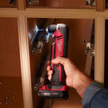 Milwaukee 2615-21 M18 Lithium-Ion 3/8 in. Cordless Right Angle Drill Driver Kit (3 Ah) image number 3