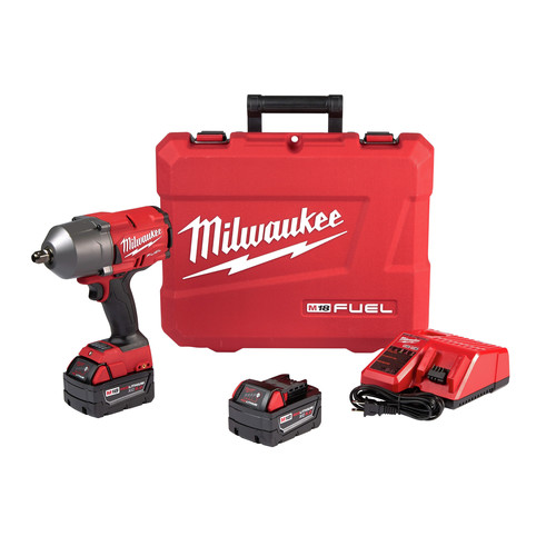 Factory Reconditioned Milwaukee 2766-82 M18 FUEL High Torque 1/2 in. Impact Wrench with Pin Detent (Kit)