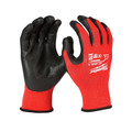Milwaukee 48-22-8931B 12-Pair Cut-Resistant Cut Level 3 Dipped Gloves - Medium image number 1