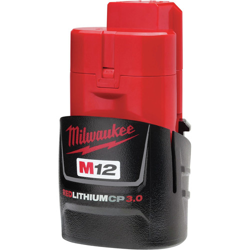 Milwaukee 48-11-2430 M12 REDLITHIUM CP 3 Ah Lithium-Ion Compact Battery image number 1